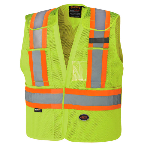 Hi-Viz Safety Tear-Away Vest 6933