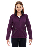 North End's Ladies' Splice 3 layer Light Bonded Soft Shell Jacket 78655