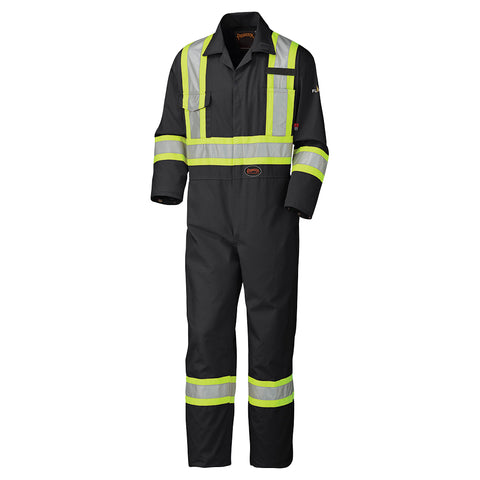 Flame Resistant Cotton Safety Coverall Tall 5558BKT