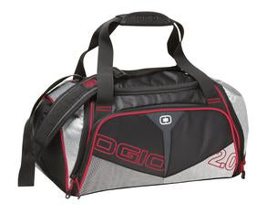 BLACK / SILVER RED OGIO® ENDURANCE 2.0 DUFFEL. 412030