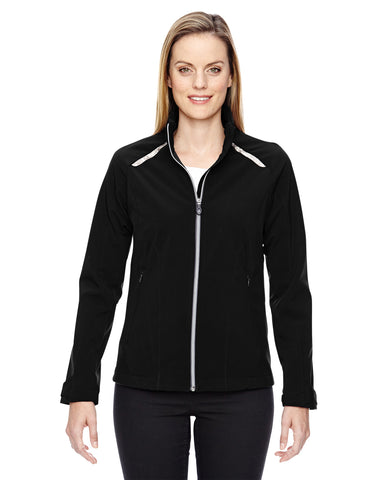 North End's Ladies' Excursion Soft Shell Jacket 78693
