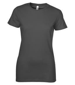 ASPHALT BELLA+CANVAS® THE FAVOURITE LADIES' TEE. 6004