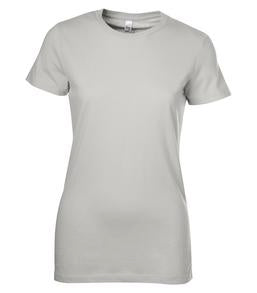 SILVER BELLA+CANVAS® THE FAVOURITE LADIES' TEE. 6004