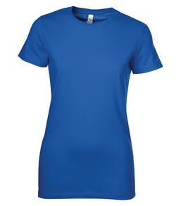 TRUE ROYAL BELLA+CANVAS® THE FAVOURITE LADIES' TEE. 6004