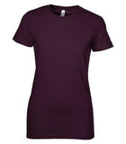 PLUM BELLA+CANVAS® THE FAVOURITE LADIES' TEE. 6004