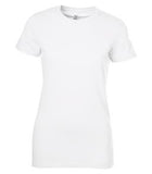 WHITE BELLA+CANVAS® THE FAVOURITE LADIES' TEE. 6004