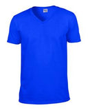 ROYAL GILDAN® SOFTSTYLE® V-NECK T-SHIRT. 64V00
