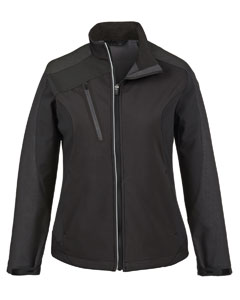 Ash City - North End Ladies' Terrain Colorblock Soft Shell with Embossed Print 78176