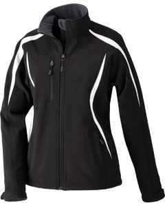 Ash City - North End Ladies' Enzo Colorblocked Three-Layer Fleece Bonded Soft Shell Jacket