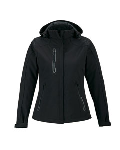 Ash City - North End Ladies' Axis Soft Shell Jacket with Print Graphic Accents