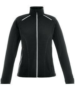 Ash City - North End Ladies' Excursion Soft Shell Jacket with Laser Stitch Accents