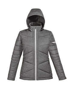 Ash City - North End Ladies' Avant Tech Mélange Insulated Jacket with Heat Reflect Technology - 78698