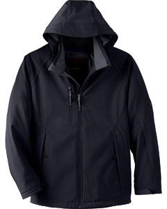 Ash City - North End Men's Glacier Insulated Three-Layer Fleece Bonded Soft Shell Jacket with Detachable Hood  88159