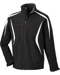 Ash City - North End Men's Enzo Colorblocked Three-Layer Fleece Bonded Soft Shell Jacket 88650