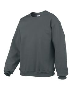 CHARCOAL GILDAN® PREMIUM COTTON RING SPUN FLEECE CREWNECK SWEATSHIRT. 92000