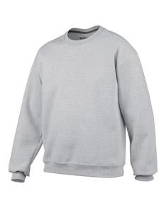 SPORT GREY GILDAN® PREMIUM COTTON RING SPUN FLEECE CREWNECK SWEATSHIRT. 92000