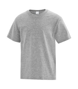 ATHLETIC GREY ATC EVERYDAY COTTON YOUTH TEE. ATC1000Y