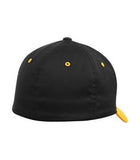 BLACK / GOLD ATC BY FLEXFIT® ORIGINAL COLOUR BLOCK CAP. ATC1601