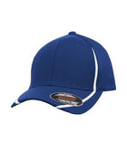 TRUE ROYAL / WHITE ATC BY FLEXFIT® PERFORMANCE COLOUR BLOCK CAP. ATC16