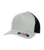 SILVER / BLACK ATC BY FLEXFIT® TRUCKER MESH. ATC6511