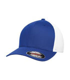 TRUE ROYAL / WHITE ATC BY FLEXFIT® TRUCKER MESH. ATC6511