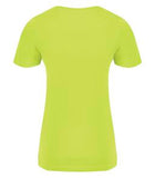 EXTREME YELLOW ATC EUROSPUN® RING SPUN LADIES' TEE. ATC8000L
