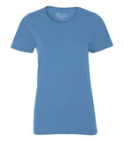 CAROLINA BLUE ATC EUROSPUN® RING SPUN LADIES' TEE. ATC8000L