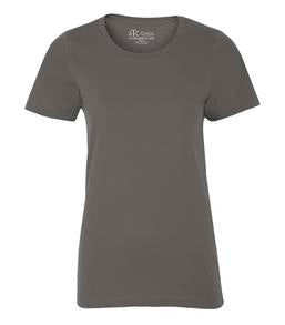 COAL GREY ATC EUROSPUN® RING SPUN LADIES' TEE. ATC8000L