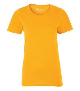 GOLD ATC EUROSPUN® RING SPUN LADIES' TEE. ATC8000L