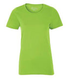 LIME SHOCK ATC EUROSPUN® RING SPUN LADIES' TEE. ATC8000L