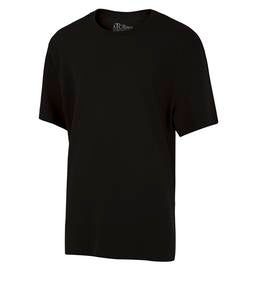 BLACK ATC EUROSPUN® RING SPUN YOUTH TEE. ATC8000Y