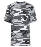 GREY CAMO ATC EUROSPUN® RING SPUN YOUTH TEE. ATC8000Y