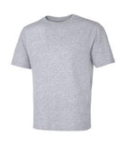 ATHLETIC GREY ATC EUROSPUN® RING SPUN TEE. ATC8000