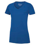 TRUE ROYAL ATC EUROSPUN® RING SPUN V-NECK LADIES' TEE. ATC8001L