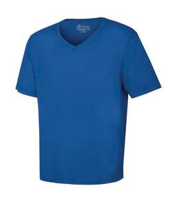 TRUE ROYAL ATC EUROSPUN® RING SPUN V-NECK TEE. ATC8001