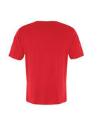 TRUE RED ATC EUROSPUN® RING SPUN V-NECK TEE. ATC8001