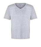 ATHLETIC HEATHER ATC EUROSPUN® RING SPUN V-NECK TEE. ATC8001