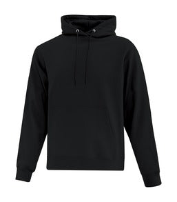 BLACK ATC EVERYDAY FLEECE HOODED SWEATSHIRT. ATCF2500
