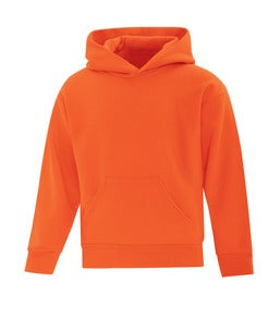 ORANGE ATC EVERYDAY FLEECE HOODED YOUTH SWEATSHIRT. ATCY2500