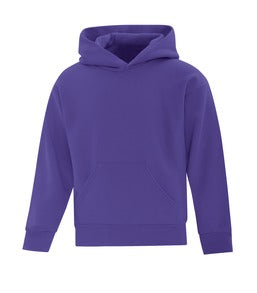 PURPLE ATC EVERYDAY FLEECE HOODED YOUTH SWEATSHIRT. ATCY2500