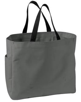 CHARCOAL ATC ESSENTIAL TOTE. B110