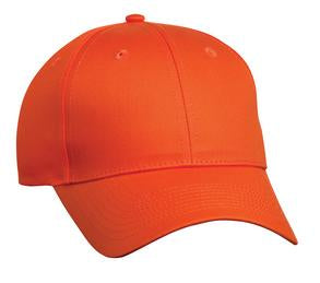 ORANGE ATC MID PROFILE TWILL CAP. C130