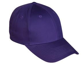 PURPLE ATC MID PROFILE TWILL CAP. C130