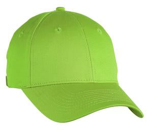 LIME SHOCK ATC MID PROFILE TWILL CAP. C130