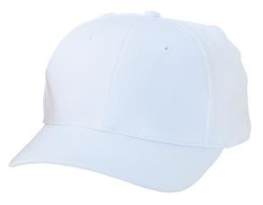 WHITE ATC MID PROFILE TWILL CAP. C130