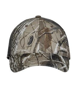 REAL TREE HARDWOODS HD ATC REALTREE® CAMOUFLAGE MESH BACK CAP. C1314