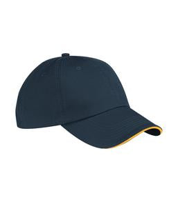 NAVY / GOLD ATC SANDWICH BILL CAP. C140