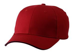 RED / NAVY ATC SANDWICH BILL CAP. C140