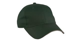 HUNTER / KHAKI ATC SANDWICH BILL CAP. C140