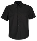 BLACK COAL HARBOUR® EASY CARE SHORT SLEEVE WOVEN SHIRT. D510